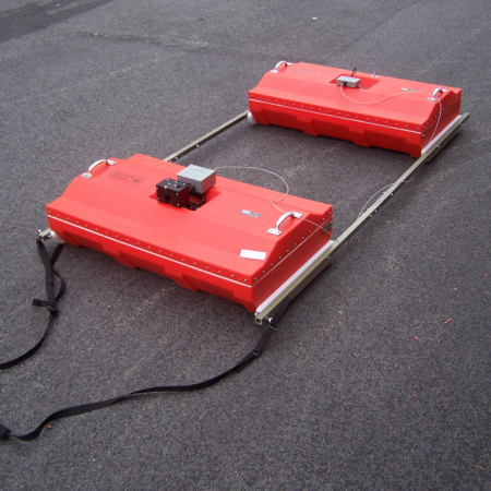 100 MHz antenna is used for deep subsurface applications