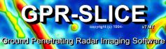 GPR Slice - comprehensive ground penetrating radar imaging software
