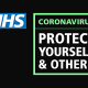 Allied Associates Covid update image with NHS logo